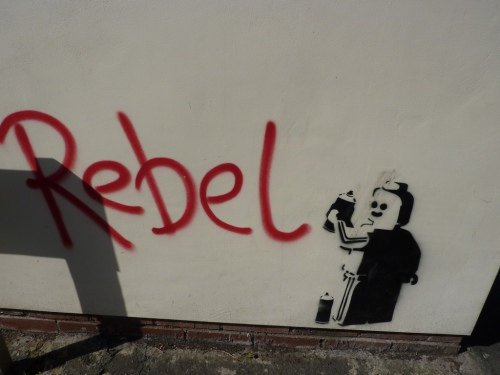 rebel grafitti