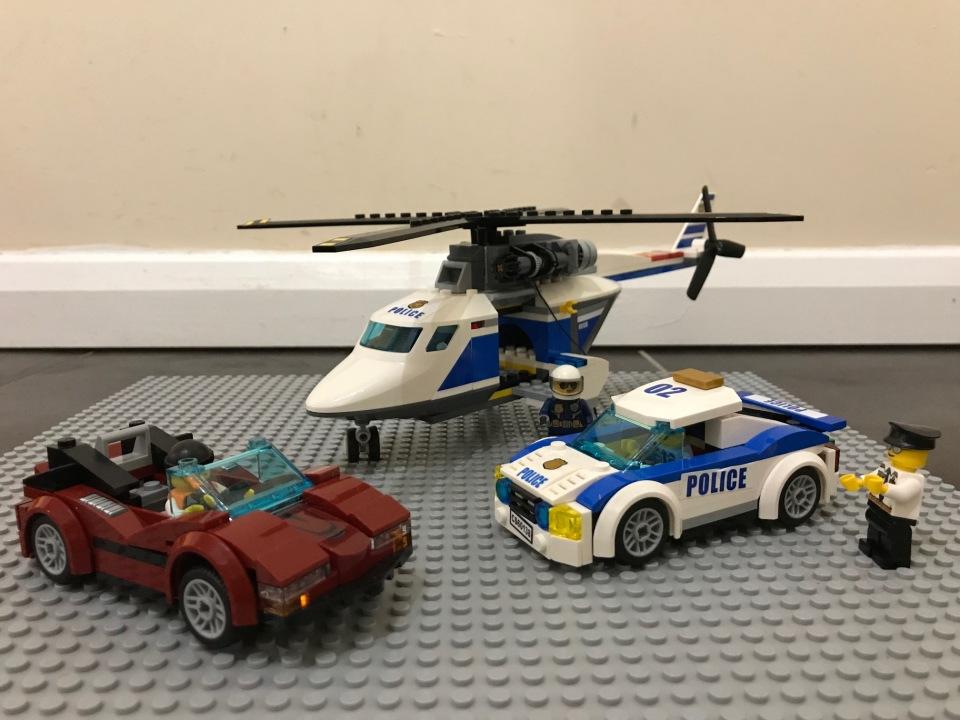 Lego crime